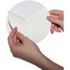 Autocollants pour espaces extérieurs avec du film PVC blanc et dos fendu, facilitent le décollage du support