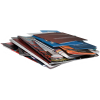 Selon le grammage du papier, plusieurs volumes de pages sont possibles