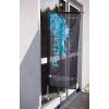 Idéal pour des vitrines ou d'autres surfaces en verre.