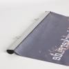 Grâce à sa texture, le tissu polyester est durable et antistatique ; classement des réactions au feu B1 (illustr. similaire)
